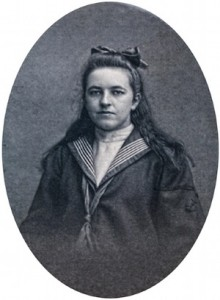 Corrie Ten Boom as a young lady