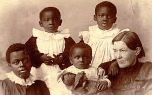 Mary Slessor and adopted children
