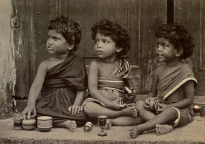 Three of Amy Carmichael's Orphan Girls
