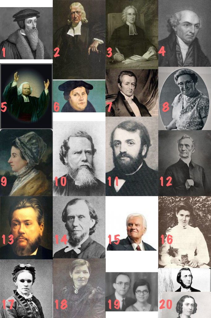 Who's Who in Church History?