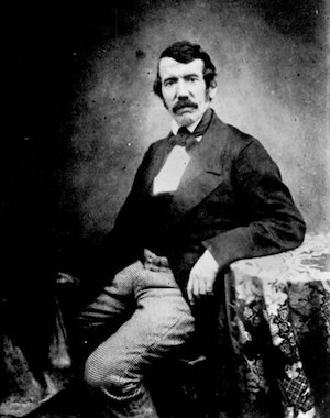 David Livingstone as a younger adult.