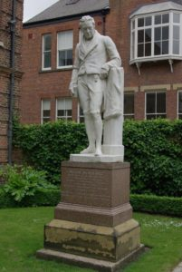 William Wilberforce Statue in Hull England