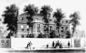 Kensington Gore House in London