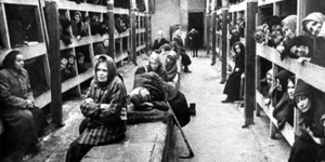 Womens' Barracks in a German Concentration Camp