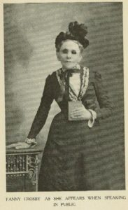 Fanny Crosby in older age