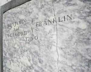 Benjamin Franklin Gravestone