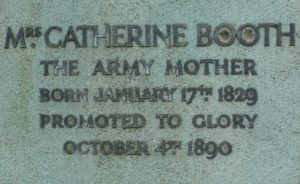 Catherine Booth's Gravestone