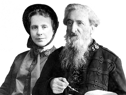 william and additionally catherine booth