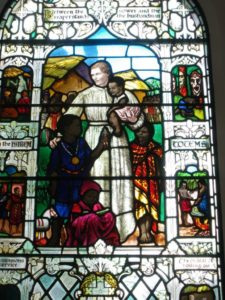 Stained Glass Church Window of Mary Slessor in Calabar