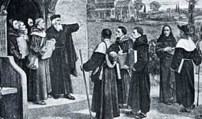 John Wycliffe's preachers, the Lollards