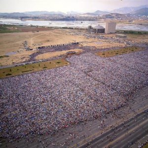 Billy Graham Crusade in Seoul, Korea - 1973, attended by 3 million people in just five days