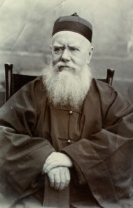 Hudson Taylor as an older man in Chinese garb