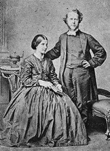 Hudson & Maria Taylor, several years after their marriage