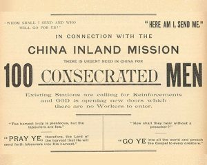 China Inland Mission prayer appeal for the Hundred Workers
