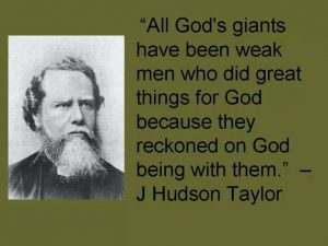 Hudson Taylor quote 2
