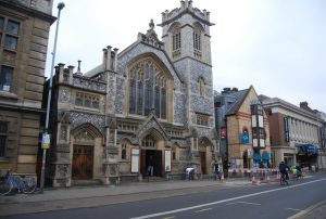 St. Andrews's Street Baptist Church, Cambridge, England