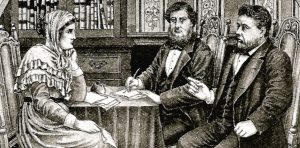 Charles Spurgeon and William Higgs meeting with Anne Hillyard