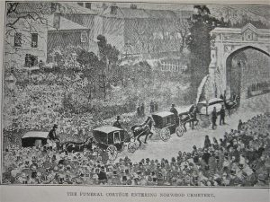Charles Spurgeon's Funeral Procession
