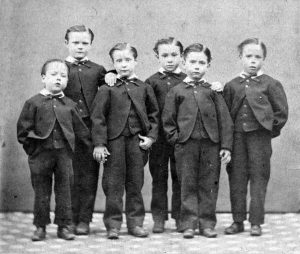 Young orphans at Spurgeon's orphanage