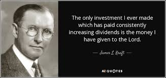 James Kraft Quote