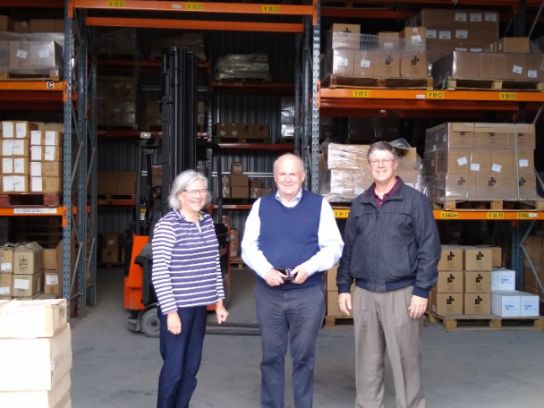 Vance-with-William-and-Carine-Mackenzie-in-the-CFP-warehouse